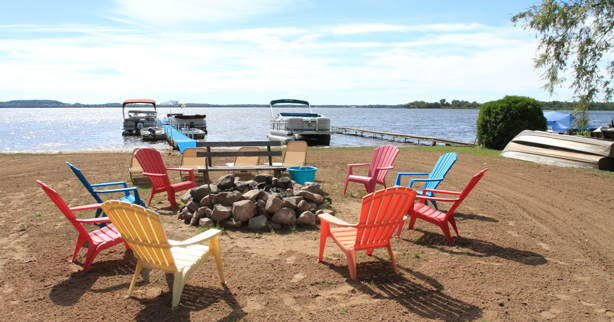 shawano lake private beach